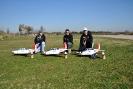Lo scarbura-team col nuovo velivolo...T 34 Mentor...